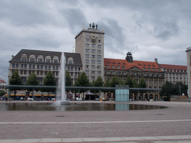 The Kroch-hochhaus. - Leipzig