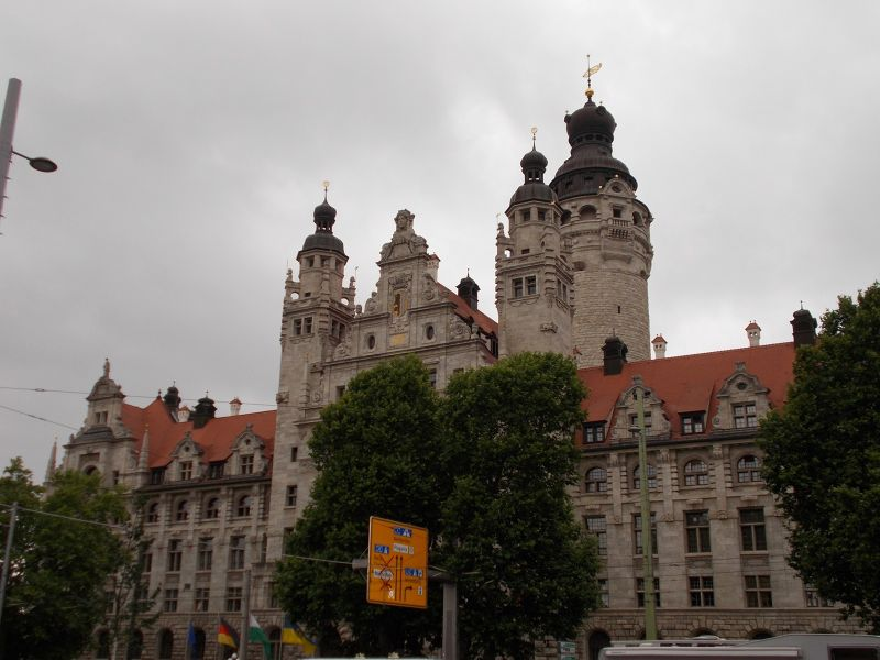The new city hall. - Leipzig