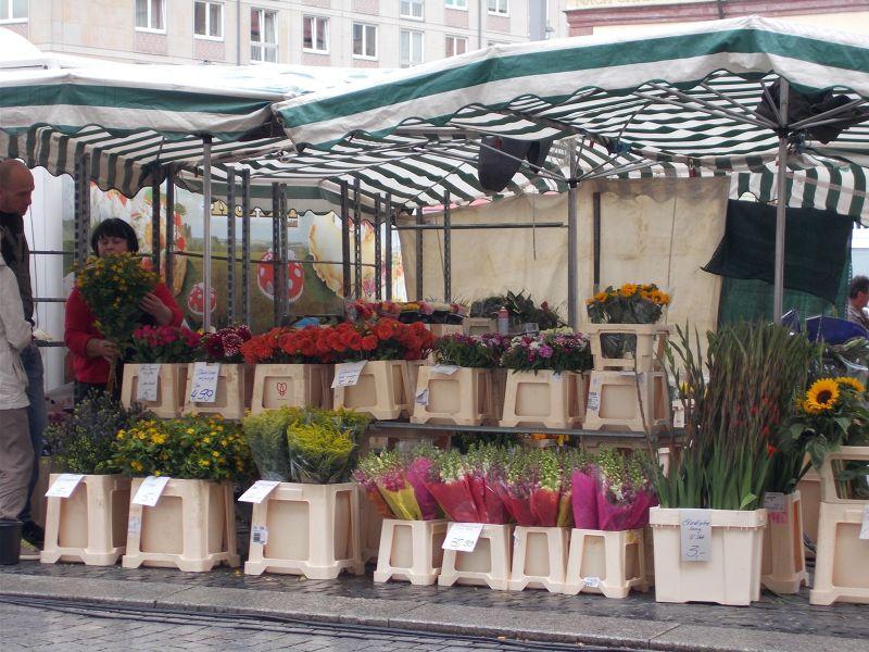 Market Stall - Leipzig