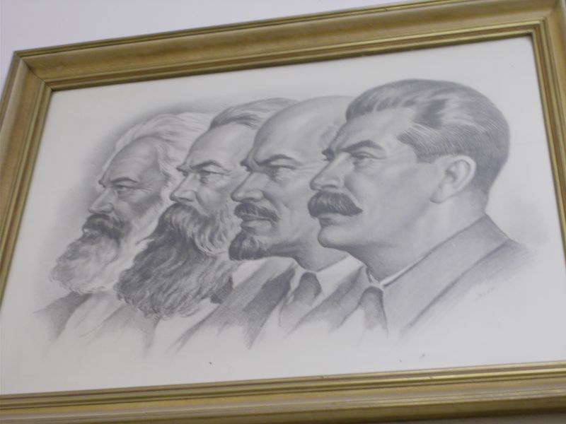 Marx, Engels, Lenin, Stalin - Leipzig