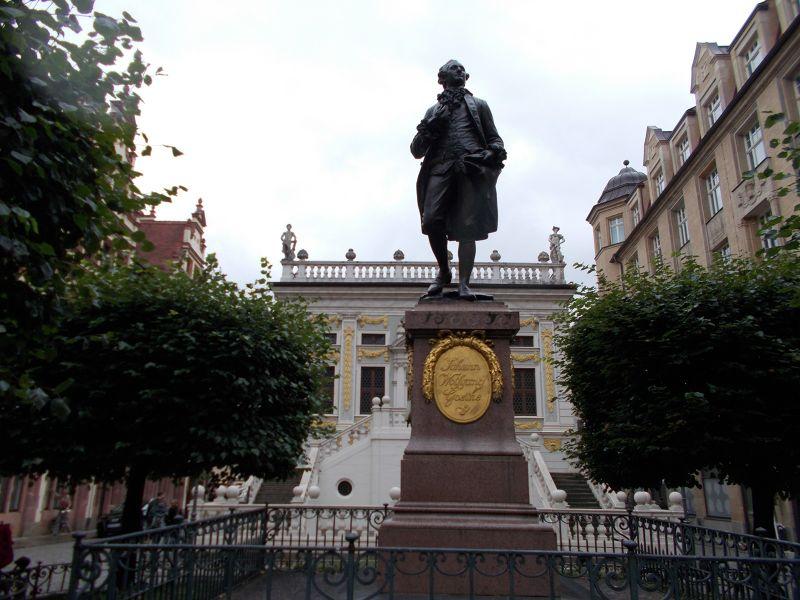 Goethe statue - Leipzig