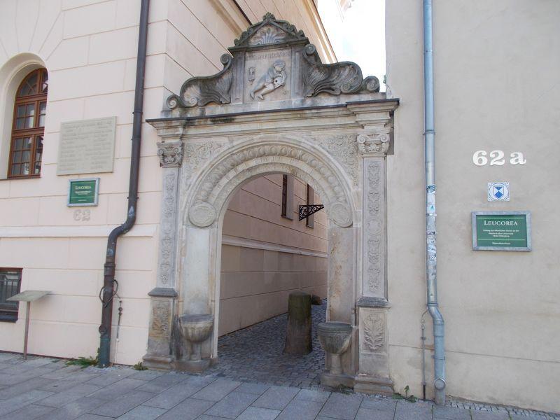 Entrance. - Wittenberg