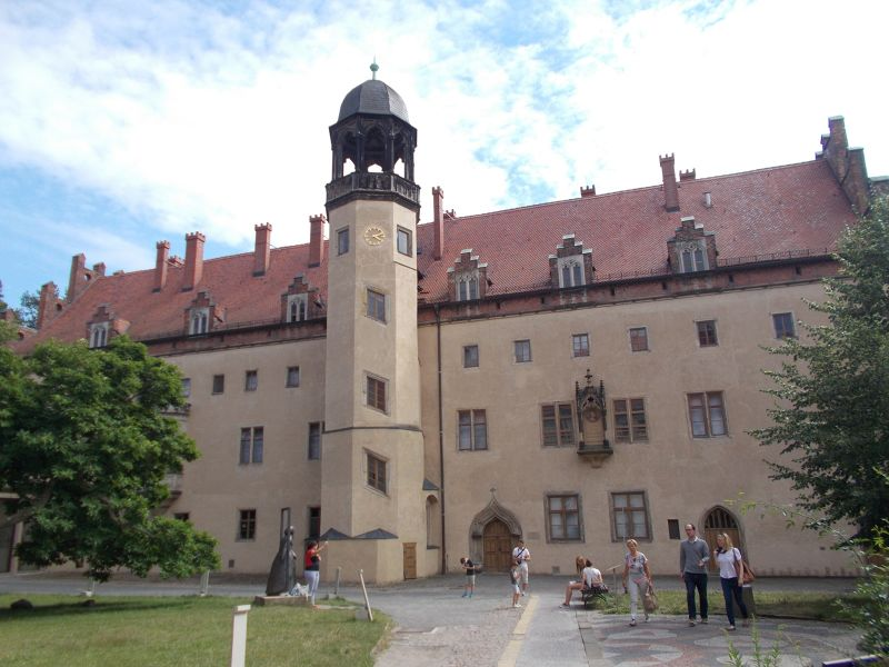 The Lutherhaus. - Wittenberg