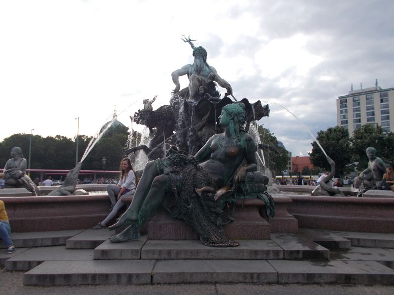 The Neptune Fountain. - Berlin