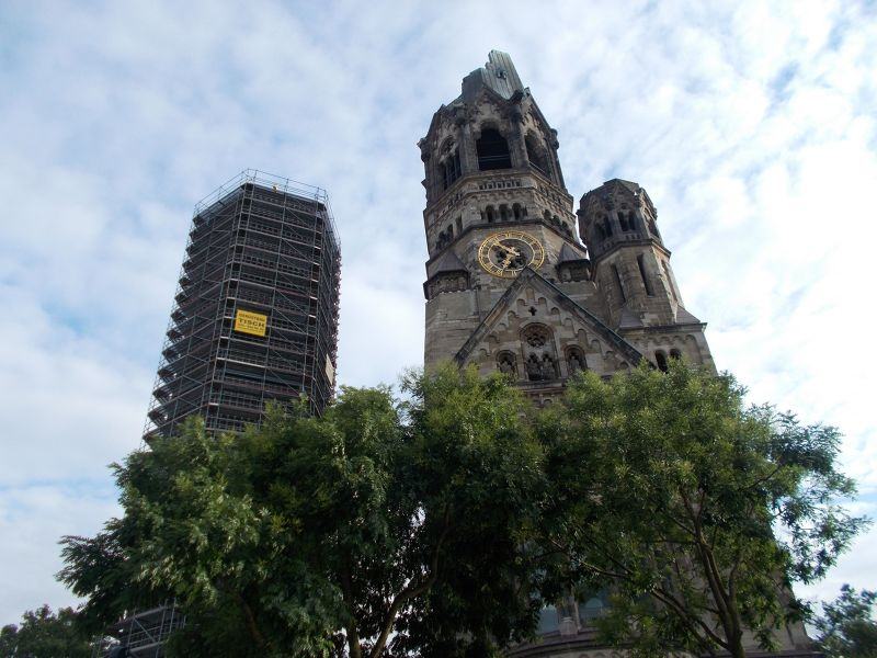 Kaiser Wilhelm Memorial Church. - Berlin