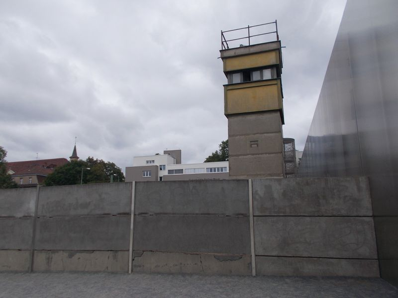 Guard tower. - Berlin