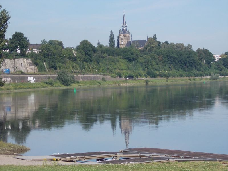 The River Elbe. - Dresden