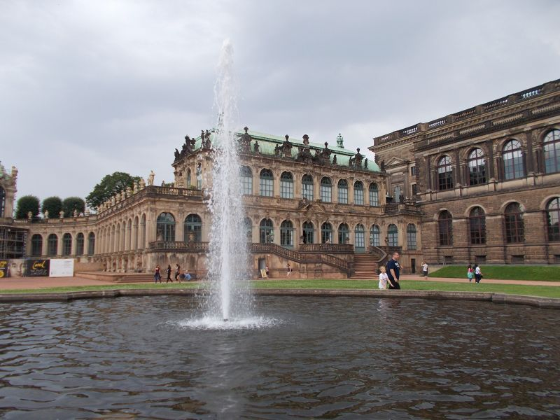 The Zwinger Palace. - Dresden