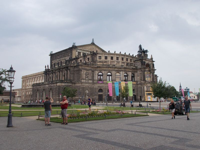 The Semper Opera House. - Dresden