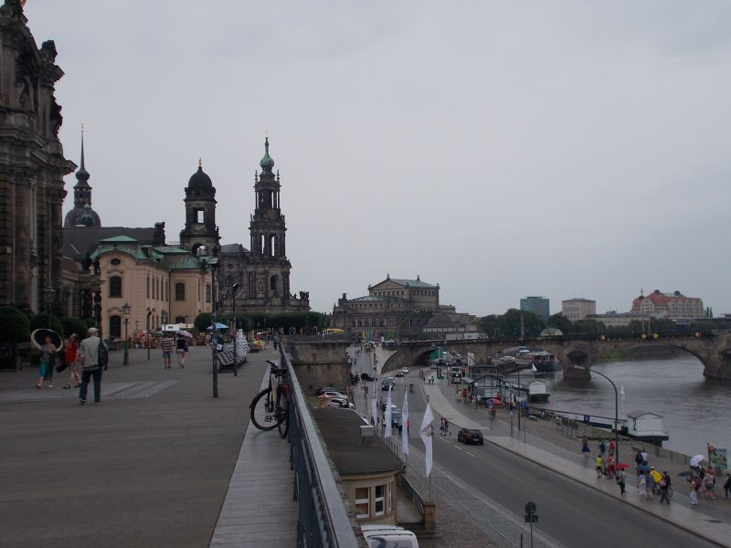 The Brühl Terrace. - Dresden