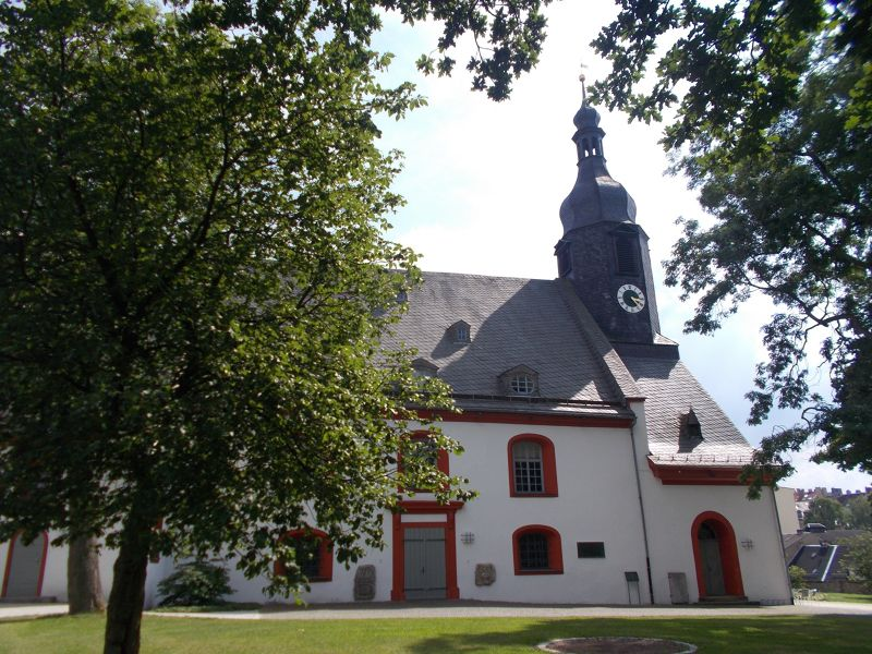 The Church of St Lorenz. - Hof