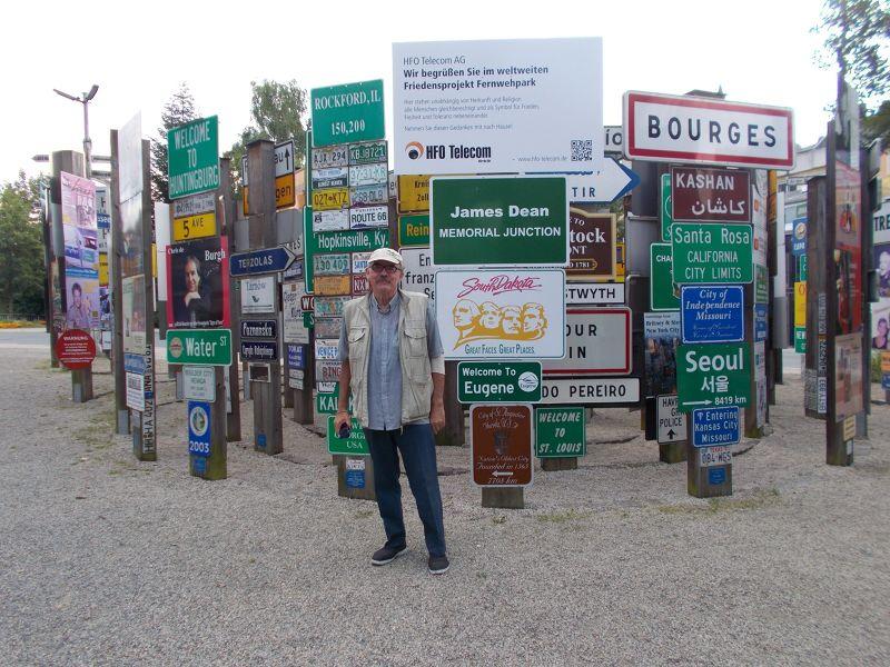 The Hofer Fernwehpark. - Hof