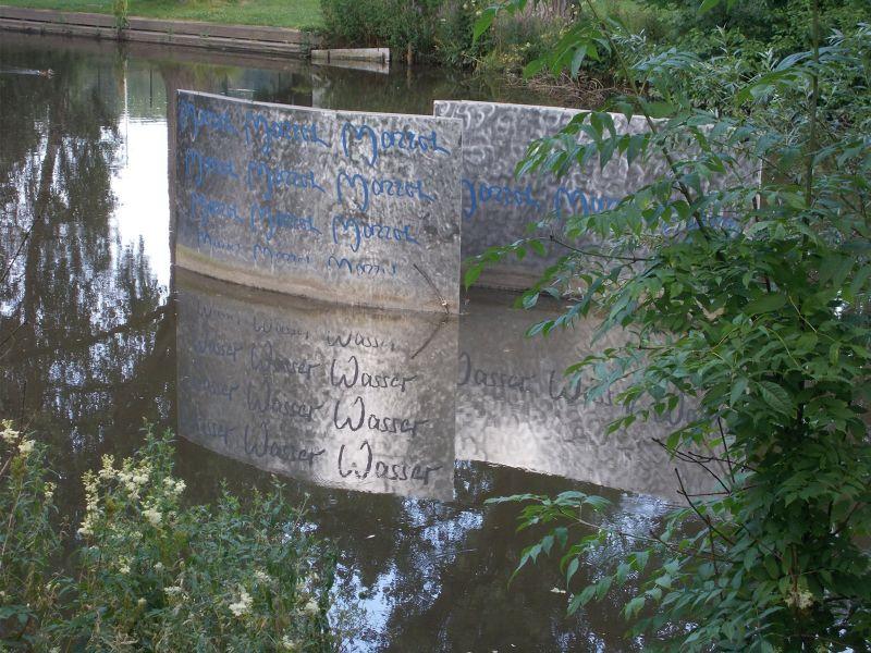 Water Monument. - Hof