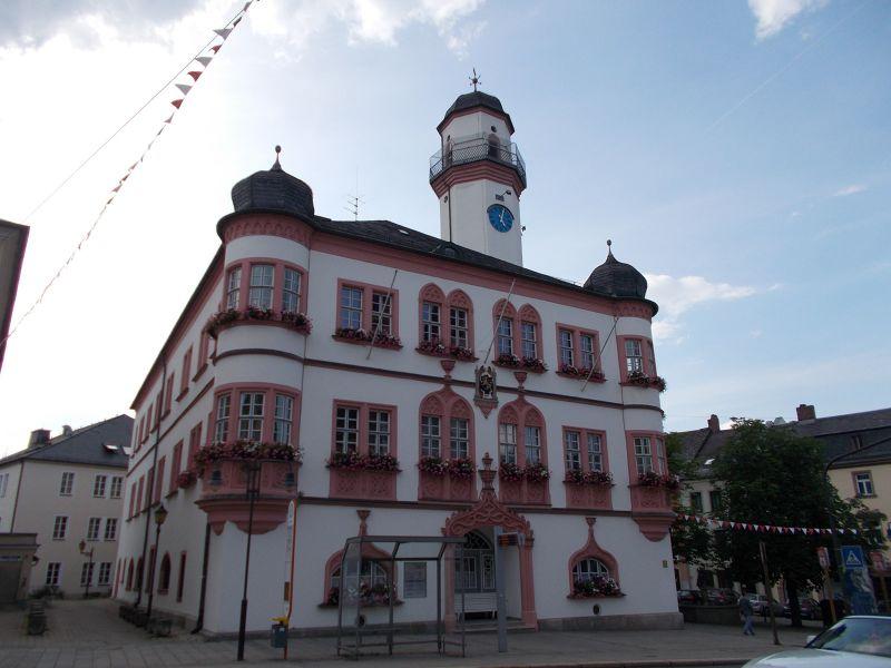Hof's Town Hall. - Hof