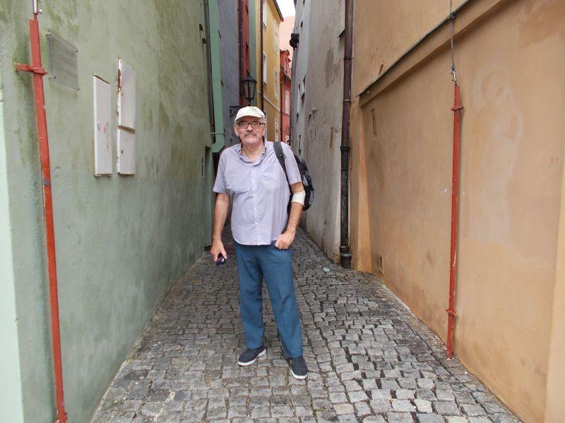 Narrow street in Špalícek. - Cheb