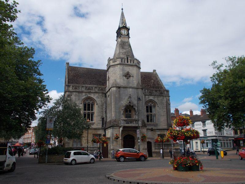 Banbury Town Hall. - Banbury