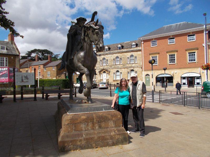 The fine lady statue. - Banbury