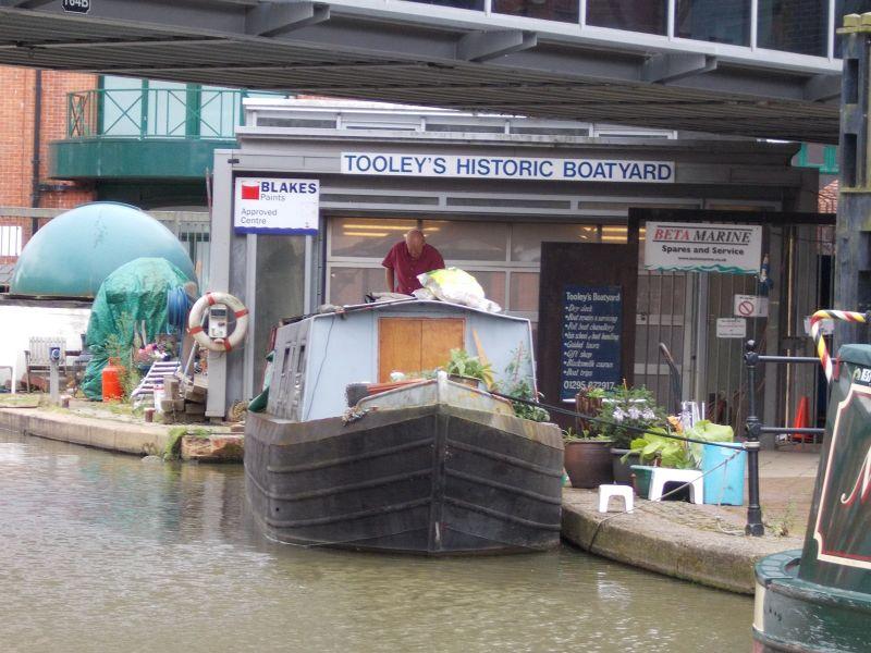Tooley's Historic Boatyard. - Banbury