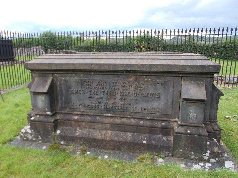 The grave of James III. - Stirling