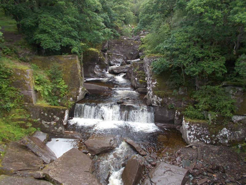 The Bracklinn Falls.