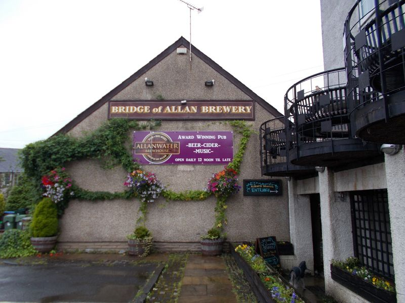 The Bridge of Allan brewery - Stirling