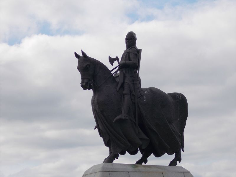 King Robert the Bruce. - Stirling