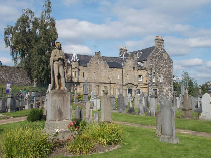 Valley Cemetery. - Stirling