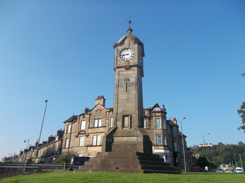 The Bridge Clock Tower. - Stirling