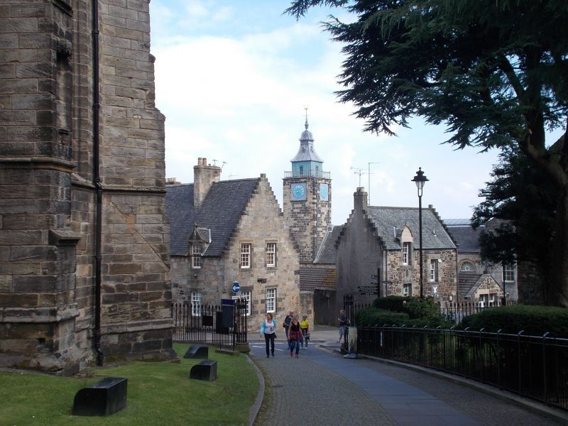 The tollbooth tower. - Stirling