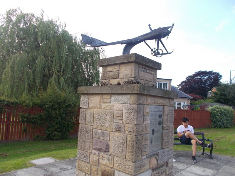 The Branwell monument. - Stirling