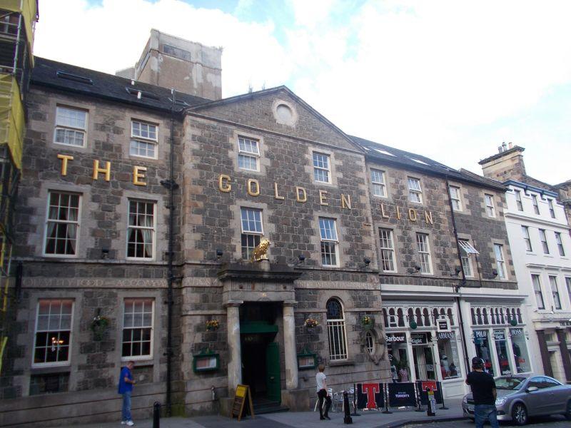 The Golden Lion Hotel. - Stirling