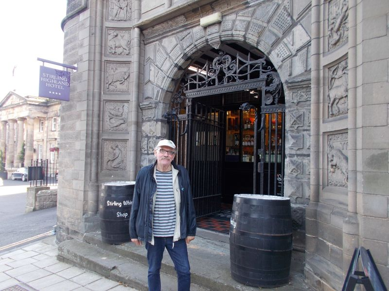 Stirling Whisky Shop. - Stirling