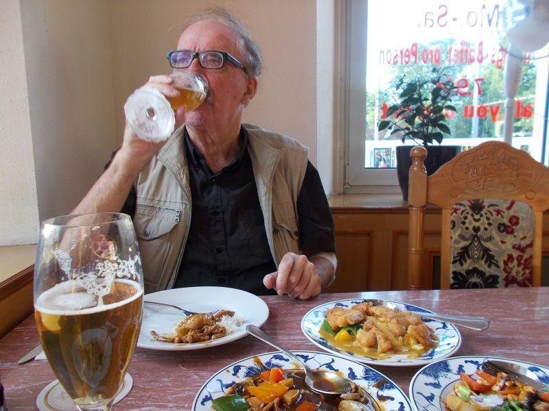A pleasant enough meal. - Würzburg