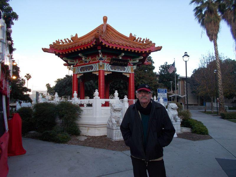 Chinese pagoda, Riverside. - Riverside