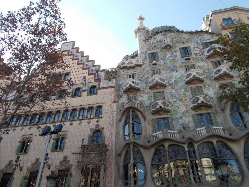 Casa Batlló and Casa Amatller - Barcelona