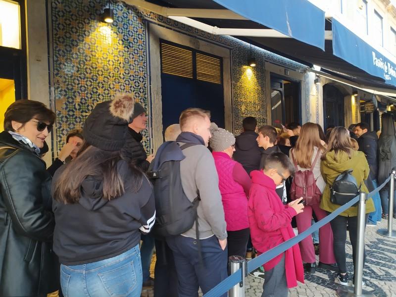 The queue.