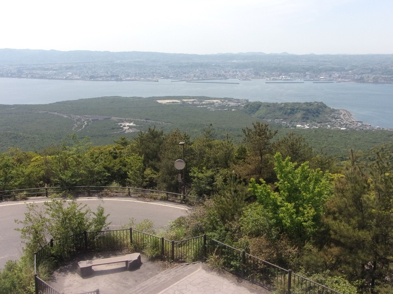 From Yunohira Observatory.