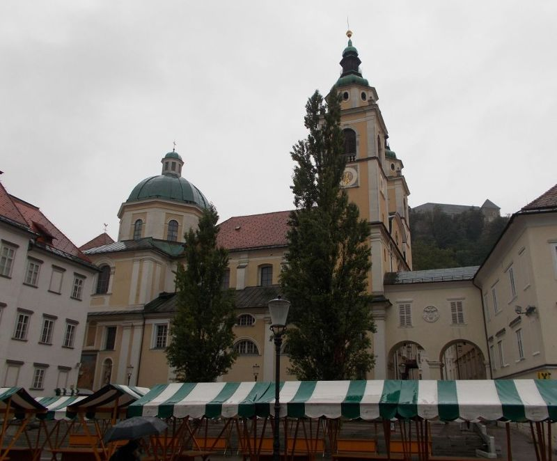 The Cathedral of St Nicholas - Ljubljana