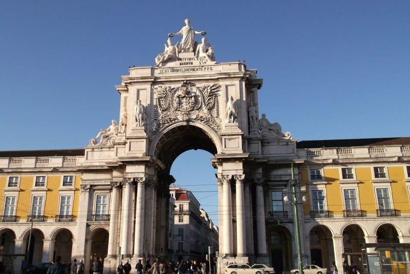 The Arch of Augusta, Commercio Square. - Lisbon