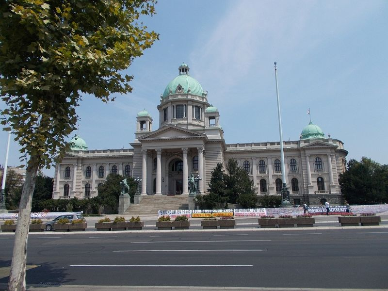 The National Assembly Building - Belgrade