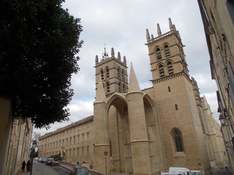 The Cathédrale Saint-Pierre De Montpellier