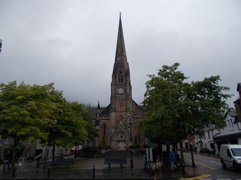 Church in the centre of Callander - Callander.