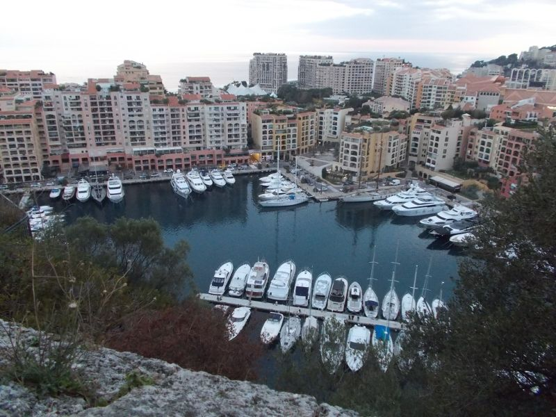 Views Over Fontvieille From The Palace
