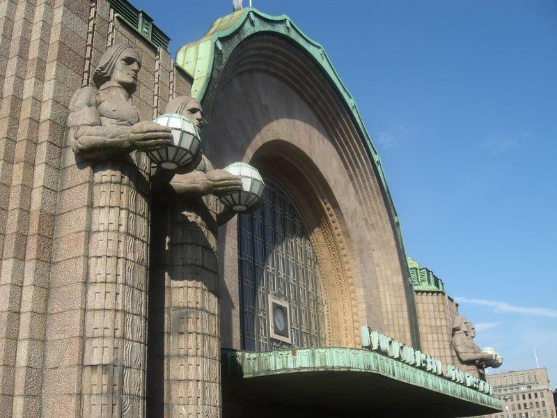 Helsinki Central Railway Station - Helsinki