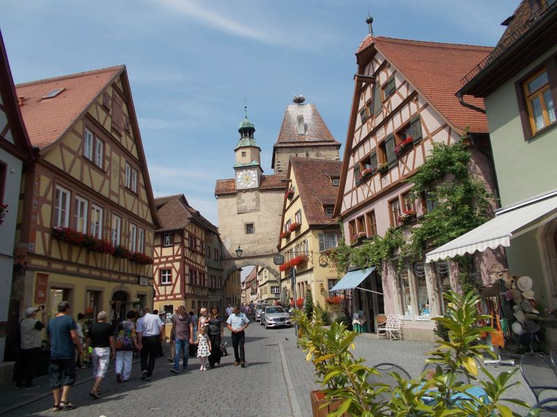 Gates and Walls - Rothenburg ob der Tauber - Rothenburg ob der Tauber