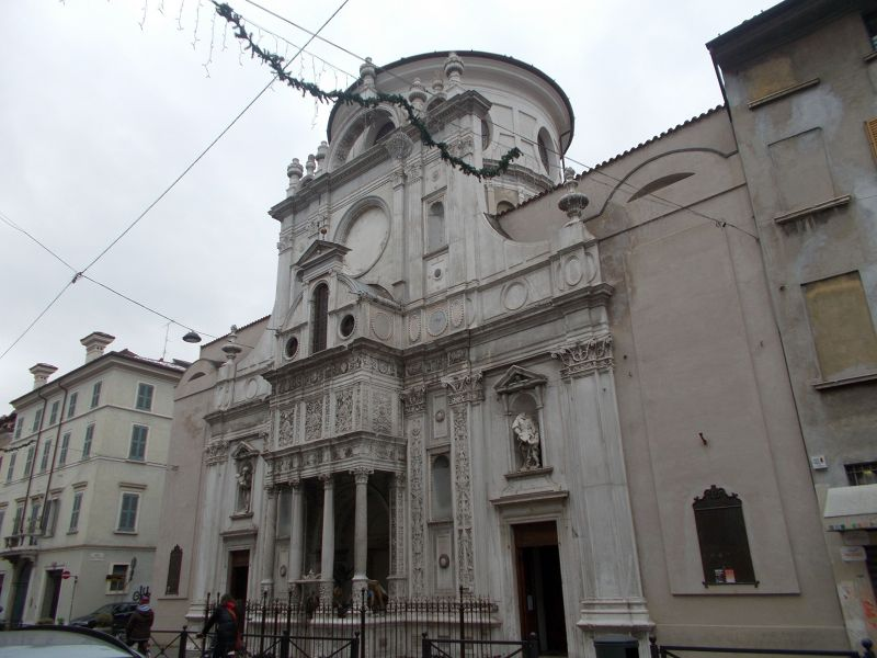 The church of Santa Maria dei Miracoli.