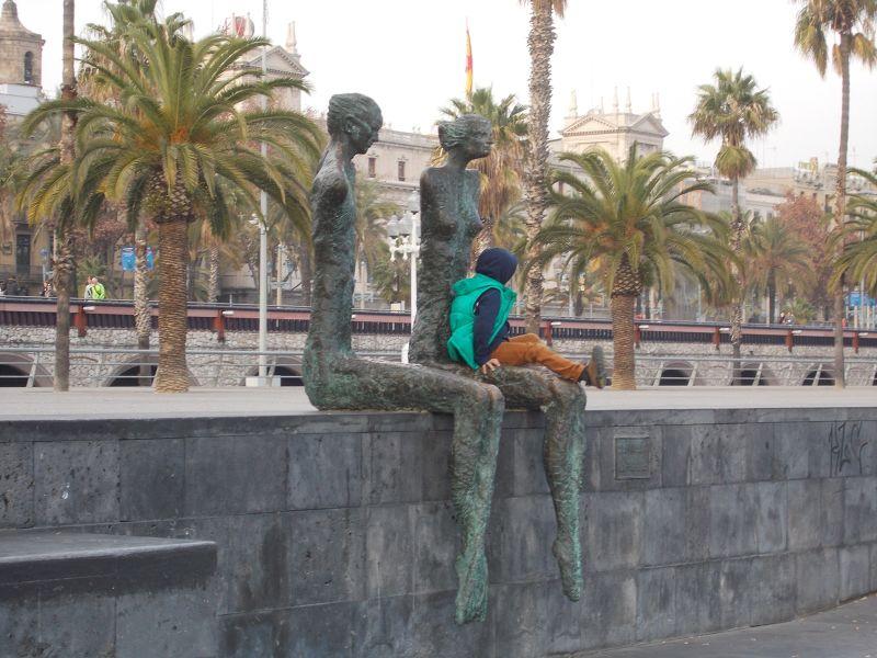 La Parella -The Couple, by Lautaro Díaz Silva,1998 - Barcelona
