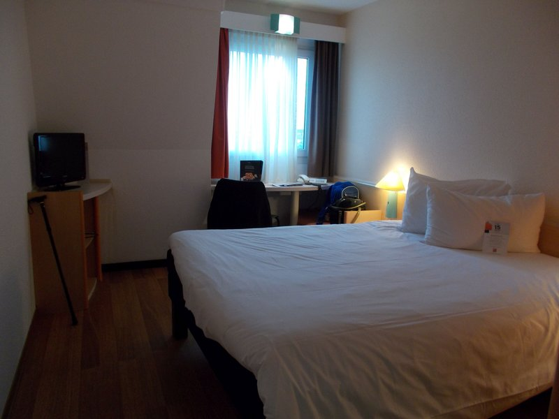 Our Room in The Ibis Frankfurt Airport.