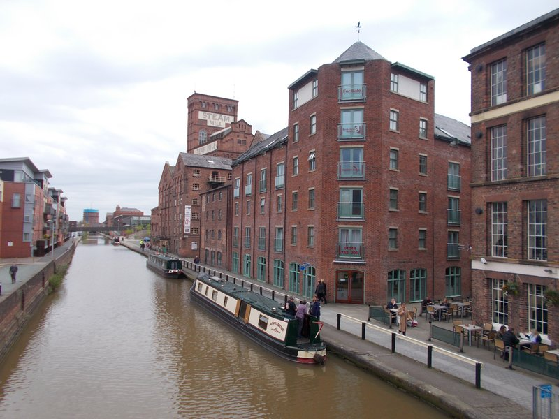 The Steam Mill on the canal.