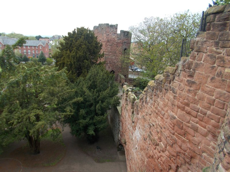 Chester city walls.